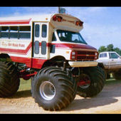 Monster School Bus..