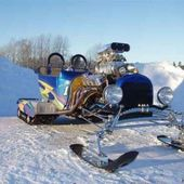 Awesome snowmobile!