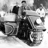 The 1936 BMW snow machine