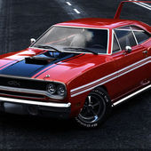 Gtx with a Super Bee wing
