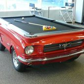 pool table car.