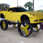 The Most Craziest Donk Car