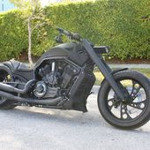 V-Rod Harley Davidson custom chopper