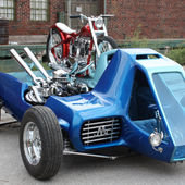 Ed Roth's 1967 Mega Cycle Hauler
