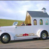 Mobile wedding chapel
