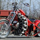 red baron chopper