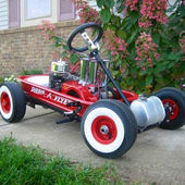 Souped up Radio Flyer.
