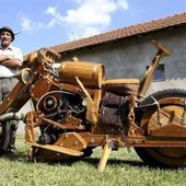 Wooden Motorcycle!