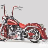 Harley-Davidson Fat Boy Chicano Style