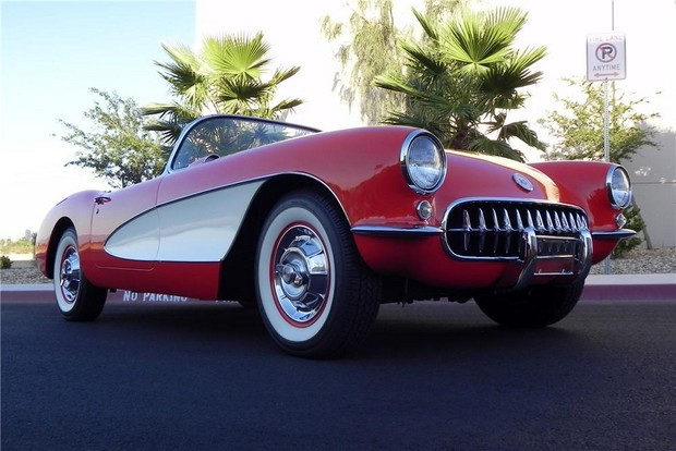 1957 CHEVROLET CORVETTE CONVERTIBLE 283V8