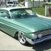 61 Impala bubbletop