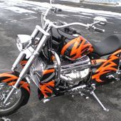 Boss Hoss Bike