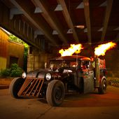 super hot Rat rod