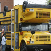 tricked out school bus