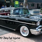 57 CHEV FUEL INJECTED