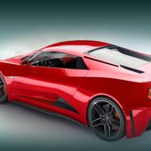 New car of 2017 year. Chevrolet Corvette Zora ZR1