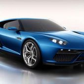 New car of 2019 year. Lamborghini Asterion