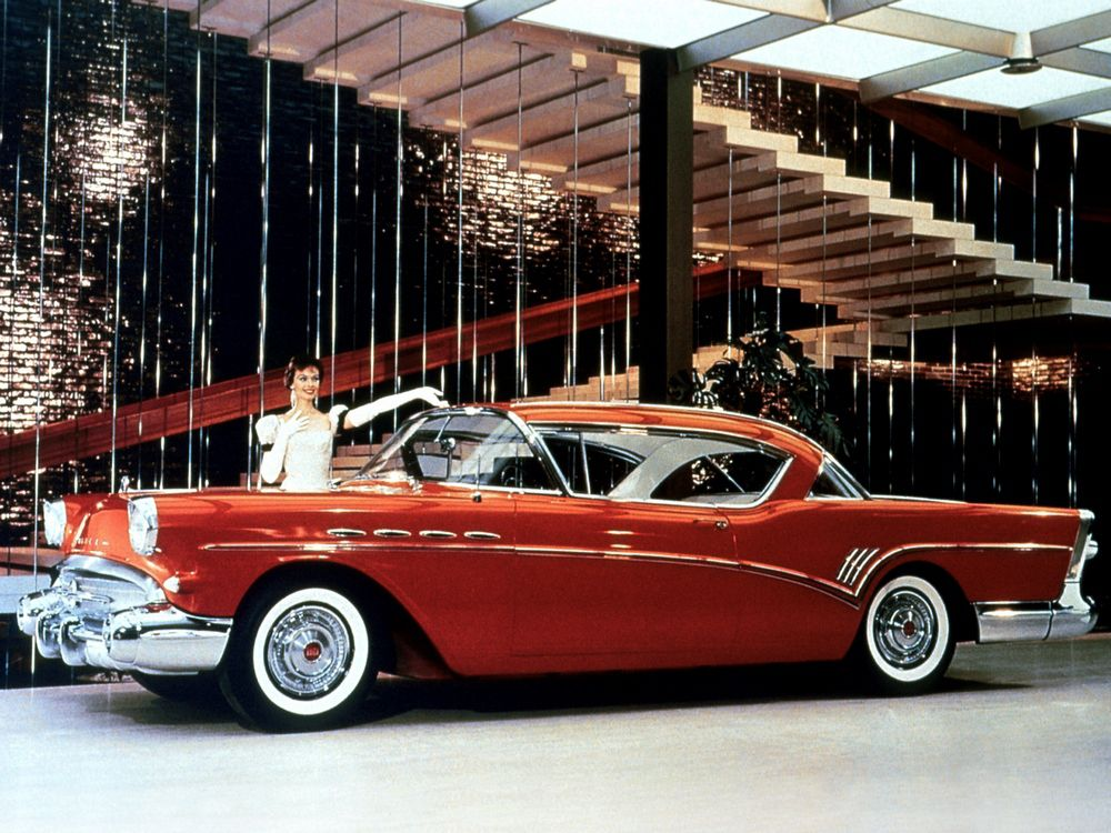 57 Buick Roadmaster Riviera Hardtop Coupe