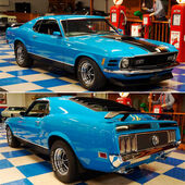 70 Ford Mustang Mach 1