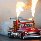 Twin Engine Jet Truck
