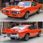 Pontiac GTO Judge Voted Best Car of 1969