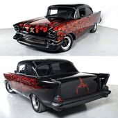 Sinister 1957 Chevy Bel Air