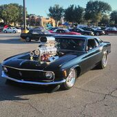 1970 ford Mustang blower