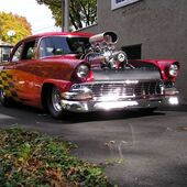 1956 Ford Fairlane Victoria blown