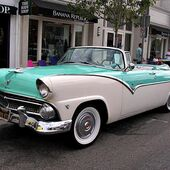 1955 Ford Fairlane Convertible